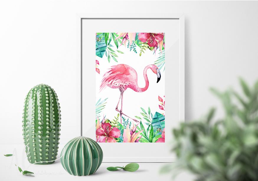 Fabulous-Flamingo-Example-AmandaLakeyArt.com