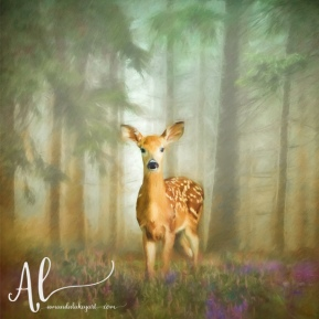 Enchanted-Doe-AmandaLakeyArt.com