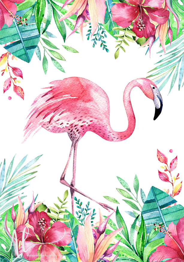 Fabulous-Flamingo-AmandaLakeyArt.com