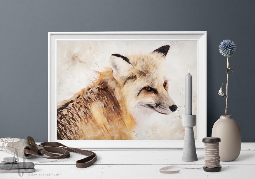 Painted-Red-Fox-Amanda-Lakey