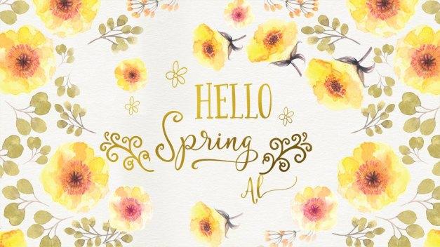 Happy Spring by Amanda Lakey