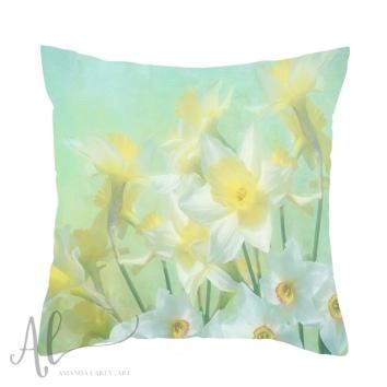 Spring-Daffodils-Cushion-Amanda-Lakey
