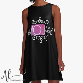 Be-You-tiful-A Line Dress